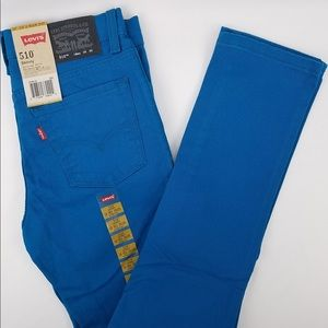Levi's Electric Blue Skinny Jeans 18 Reg 29x29